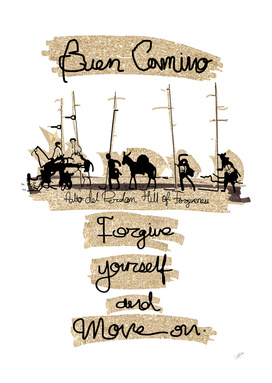 Forgive yourself camino quote