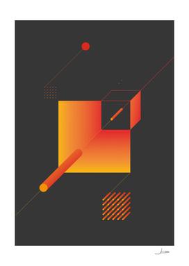 Geometric Composition 9