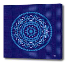 Mandala 010 Blue Mix