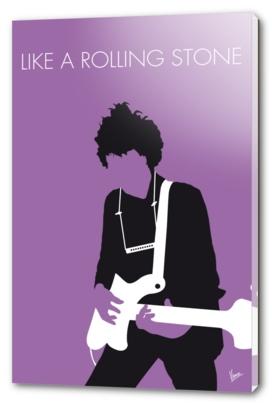 No001 MY BOB DYLAN Minimal Music poster