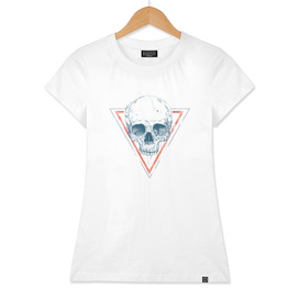Skull in triangle II