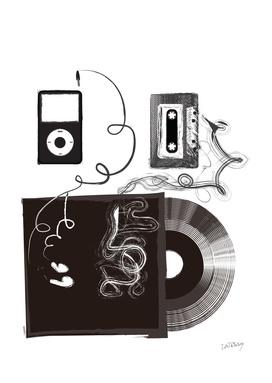 iPod Cassette Vinyl