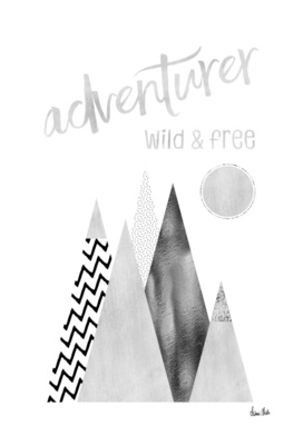 GRAPHIC ART Adventurer - Wild & Free
