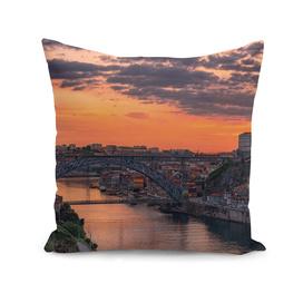 Sunset over Porto