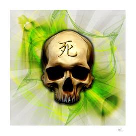 Death Kanji Skull
