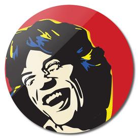 Mick Jagger Pop Art