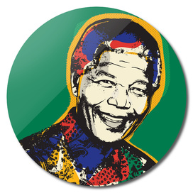 Nelson Mandela pop art quote