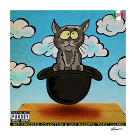 Cat in the Hat Magritte Parody