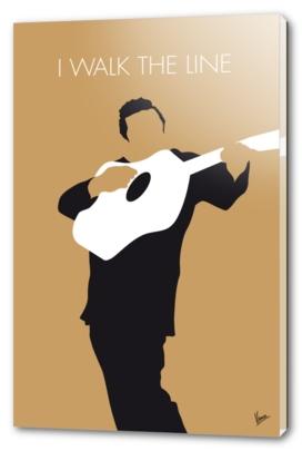 No010 MY Johnny Cash Minimal Music poster