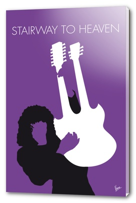 No011 MY Led zeppelin Minimal Music poster-curioos
