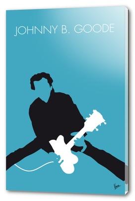 No015 MY Chuck Berry Minimal Music poster-curioos