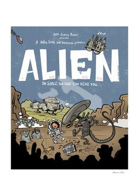 Alien Film Poster