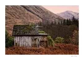 Derelict Hut in Glen Etive