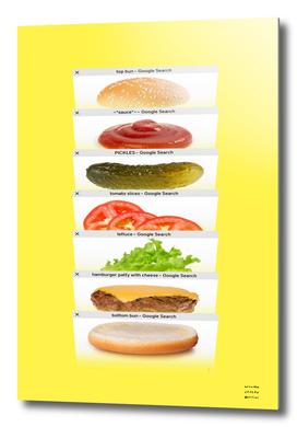 Safari Tabs Cheeseburger - Big Yellow
