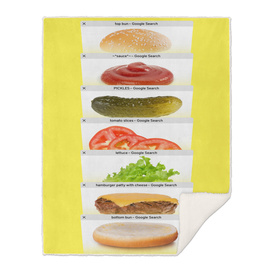Safari Tabs Cheeseburger - Big Yellow