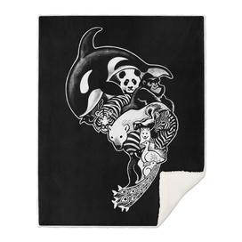 Monochrom animal (black)