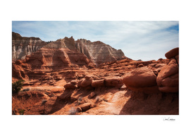 Unusual Rock Formations at Kodachrome Park, Utah