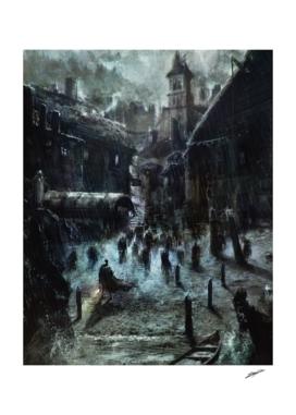 Hp Lovecraft 's Innsmouth (colour version)