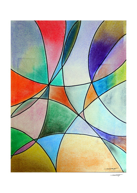Pastel Abstract #1