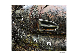 Rusty Ford Truck