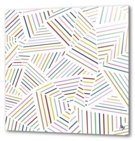 Ab Linear Rainbow Zoom