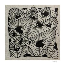 Zentangle tile no.5