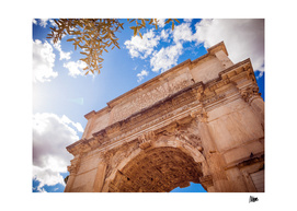 Forum Romanum: Arch of Titus