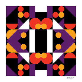 Graphic Kaleidoscope Design 38