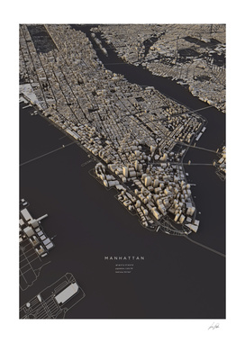 Manhattan City Map II