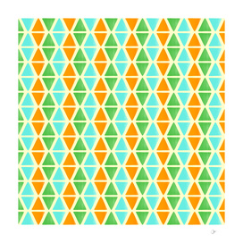 Watercolor triangular pattern