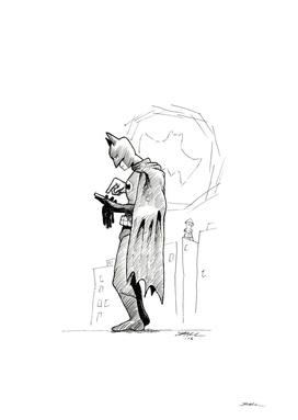 Batman Checking In