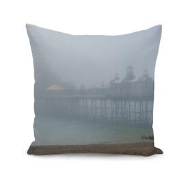 Misty Sunrise At Eastbourne Pier