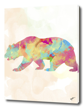Abstract Bear