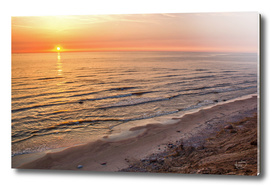 Beautiful  sunset by the sea / Dutchman's Cap
