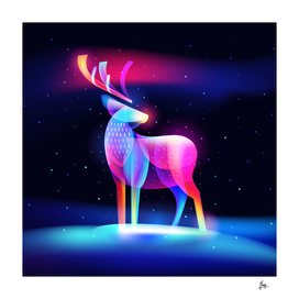 Fantasy-light-reindeer