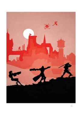 Overwatch Vintage Poster