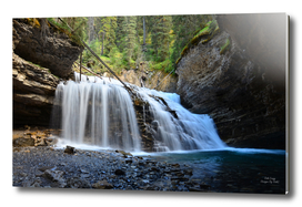 Johnson Canyon Falls, B.C.