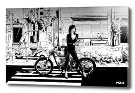 Tokyo Bike Girl