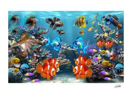 Aquarium Underwater Style