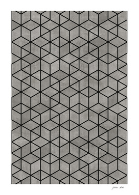 Hexagon Concrete Cubes