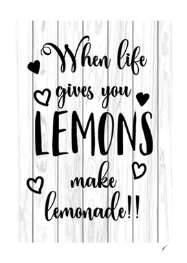 Quote Poster - 11 - Lemon