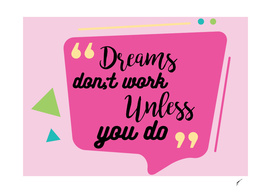 Quote Poster - 16 - Dreams
