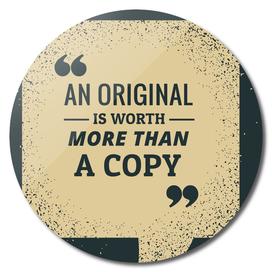 Quote Poster - 2 - Original