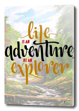 Quote Poster - 30 - Explorer