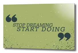 Quote Poster - 32 - Dreaming
