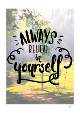 Quote Poster - 33 - Believe