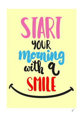 Quote Poster - 36 - Smile