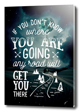 Quote Poster - 39 - Road