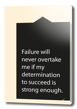 Quote Poster - 43 - Failure