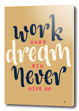 Quote Poster - 50 - Work